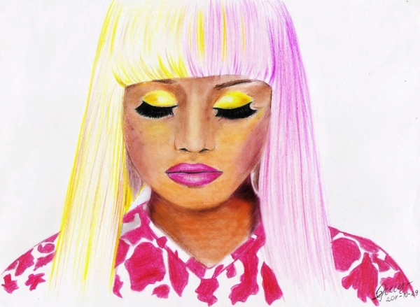 Portrait of nicki minaj by cherrysam on stars portraits nicki minaj by cherrysam voltagebd Image collections